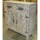 Bengal Manor Mango Wood Grey Cabinet Product Image