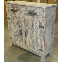 Bengal Manor Mango Wood Grey Cabinet