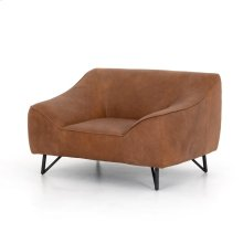 Natural Washed Camel Cover Thompkins Chair