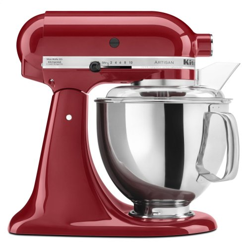 Artisan® Series 5 Quart Tilt-Head Stand Mixer - Empire Red