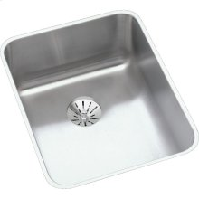 "Elkay Lustertone Classic Stainless Steel, 16-1/2"" x 20-1/2"" x 4-7/8"", Single Bowl Undermount ADA Sink w/Perfect Drain"