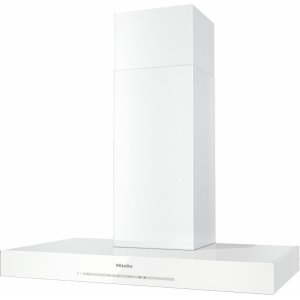 Miele Da 6690 W Puristic Edition 6000 Am Wall Ventilation Hood With Energy-Efficient Led Lighting And Touch Controls For Simple Operation.