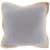 "Additional Jute Flange JF-003 22"" x 22"" Pillow Shell with Polyester Insert"