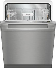 G 4976 Vi SF AM Fully-integrated, full-size dishwasher with hidden control panel, cutlery basket and CleanTouch Steel panel