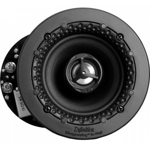 """Definitive TechnologyDisappearing Series Round 3.5"""" In-Wall / In-Ceiling Speaker"""