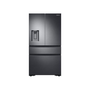 Samsung23 cu. ft. Counter Depth 4-Door French Door Refrigerator in Black Stainless Steel