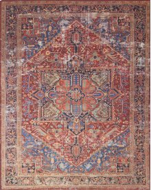 Mh Red / Blue Rug