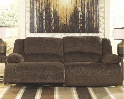 Toletta 2 Seat Reclining Sofa - Chocolate