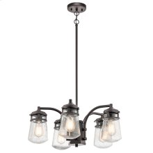 Lyndon Collection Lyndon 5 Light Outdoor Chandelier in AZ