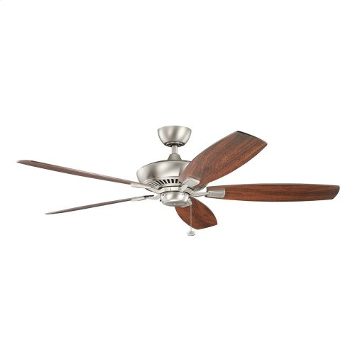 "Canfield XL 60"" Fan Brushed Nickel"