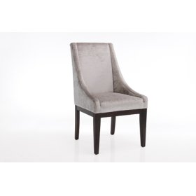 Spirit Chair Shiny Silver 2-pack