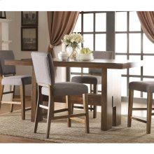 Terra Vista - Gathering Height Dining Table - Casual Walnut Finish