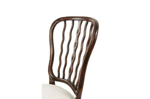 Victory Seddon Sidechair, #plain# - Victory Oak Finish