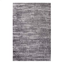 Darja Distressed Rustic Modern 5x8 Area Rug in Light and Dark Gray