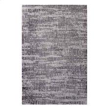 Darja Distressed Rustic Modern 5x8 Area Rug in Light and Dark Gray