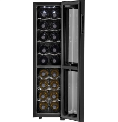 18-Bottle, Dual-Zone Wine Cellar