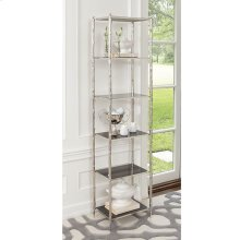 Arbor Etagere-Nickel/Black Granite