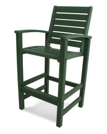 Green Signature Bar Chair