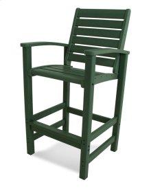 Green Signature Bar Chair
