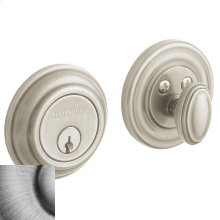 Matte Antique Nickel Traditional Deadbolt