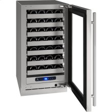 """5 Class 18"""" Wine Captain® Model With Stainless Frame Finish and Field Reversible Door Swing (115 Volts / 60 Hz)"""