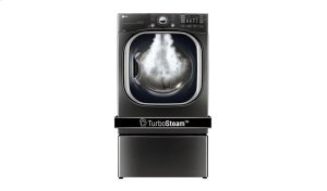 7.4 cu.ft. Ultra Large Capacity TurboSteam Electric Dryer Product Image