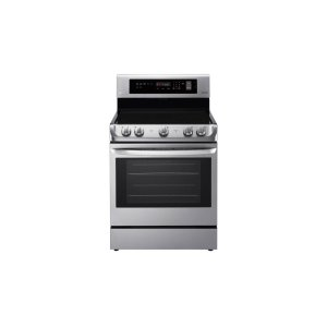 LG Appliances6.3 cu. ft. Electric Single Oven Range with ProBake Convection® and EasyClean®