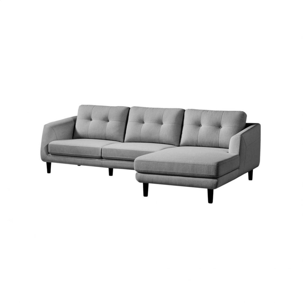 Corey Sectional Dark Grey Right