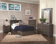 2-Drawer Mates Bed Base and Headboard Product Image