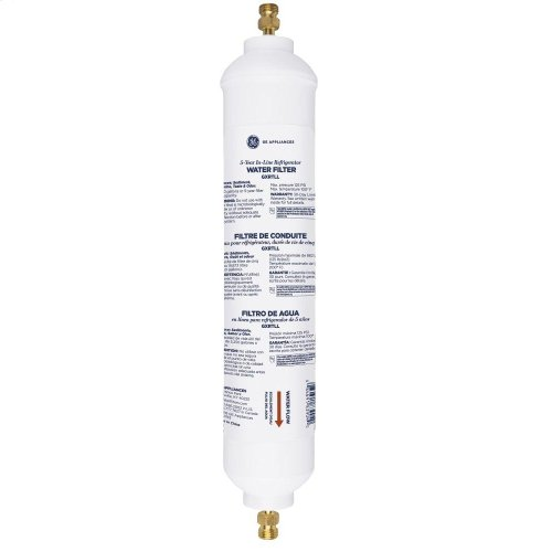 5-YEAR IN-LINE WATER FILTRATION SYSTEM, FOR REFRIGERATORS OR ICEMAKERS