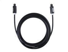 10' Digital Optical Audio Cable For Soundbars & Surround Sound