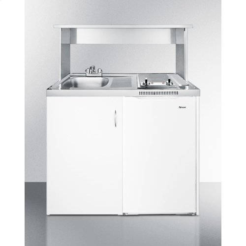 Stainless Steel Appliance Station for All C48/c48el Combination Kitchens