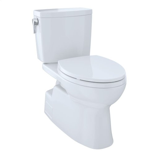Vespin® II 1G Two-Piece Toilet, Elongated Bowl - 1.0 GPF - Cotton