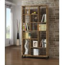 Rustic Antique Nutmeg Bookcase Product Image