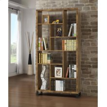 Rustic Antique Nutmeg Bookcase