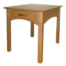 Rectangular End Table with Drawer