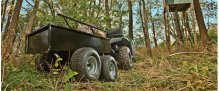 1000 lb. Four-Wheel Steel Cart (ATV/UTV) - 45-0350