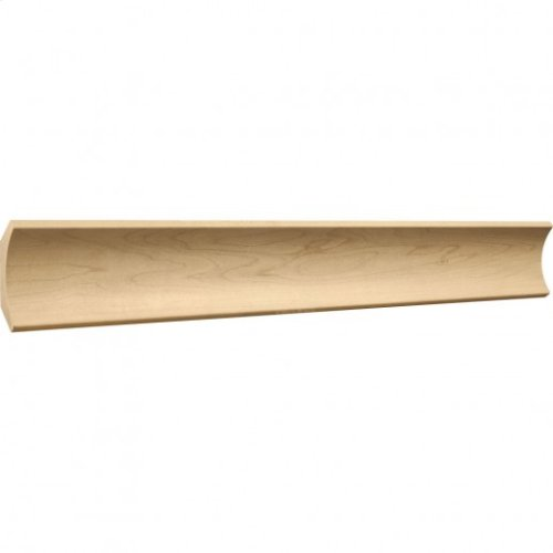 "3"" x 3/4"" Cove Moulding, Species: Alder Priced by the linear foot and sold in 8' sticks in cartons of 80'"