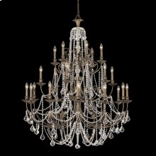 Regis 24 Light Swarovski Strass Crystal Bronze Chandelier