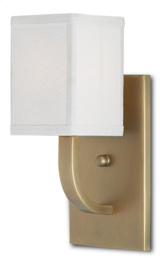 Sadler Wall Sconce - 12h x 5w x 6d
