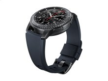 Silicone Band for Galaxy Watch 46mm & Gear S3, Black