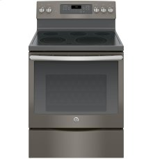 """GE® 30"""" Free-Standing Electric Convection Range-Does it all!"""