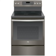 """LOANER MODEL GE® 30"""" Free-Standing Electric Convection Range"""