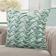 "Life Styles L0064 Celadon 22"" X 22"" Throw Pillows"