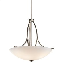 Granby Collection Granby 3 Light Inverted Pendant BPT
