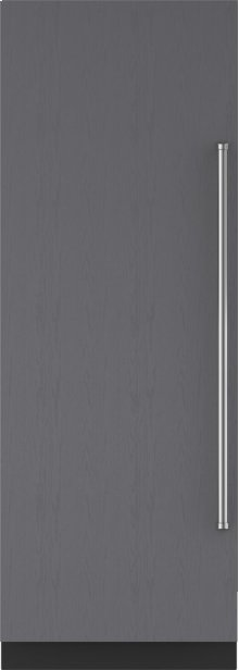 "30"" Designer Column Refrigerator with Internal Dispenser - Panel Ready"