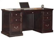 Space Saver Double Pedestal Desk Product Image