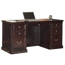 Space Saver Double Pedestal Desk