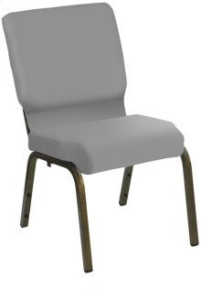 HERCULES Series 21'' Extra Wide Customizable Church Chair with Gold Vein Frame - C.O.M.