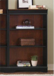 260-HO3048-R  Jr Executive 48 Inch Bookcase (RTA)